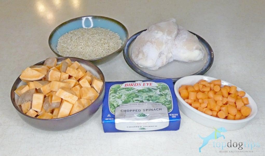Pressure Cooker Dog Food