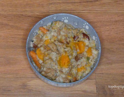 squash mash dog food for allergic dogs