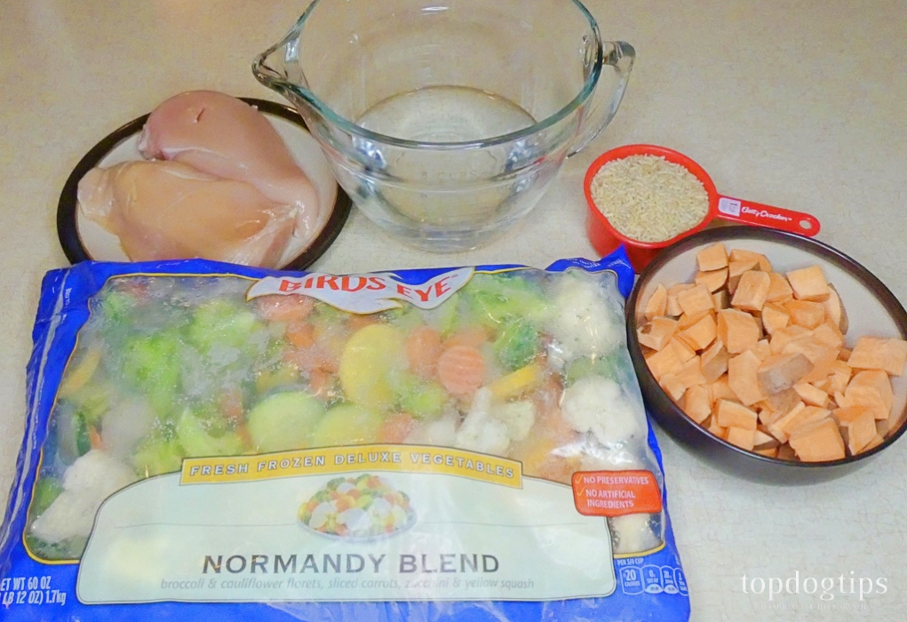 Natural Homemade Dog Food Recipe