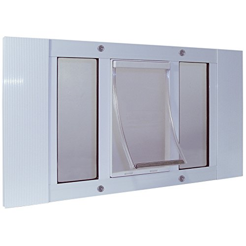Ideal Pet Products Aluminum Sash Window Pet Door