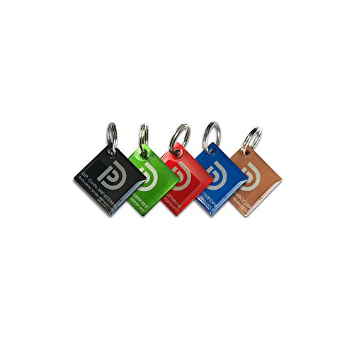 PetDwelling Gemstone QR Code Pet ID Tags