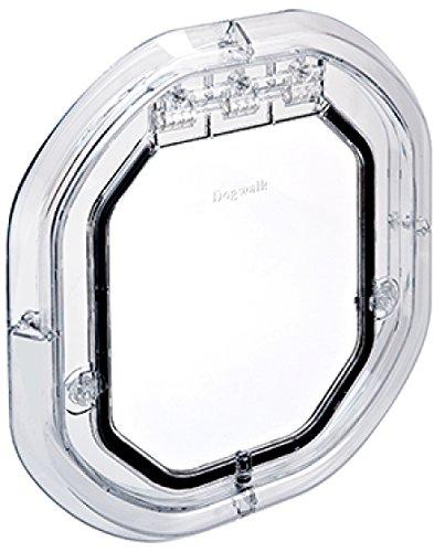 Dogwalk Glass Fitting Dog Door Slimline