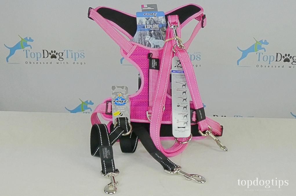 Rogz Dog Harness and Leash Giveaway