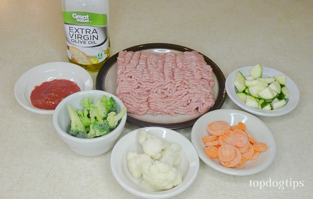 homemade dog food recipe for skin allergies