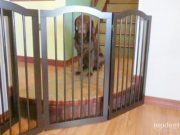 unipaws Freestanding Pet Gate