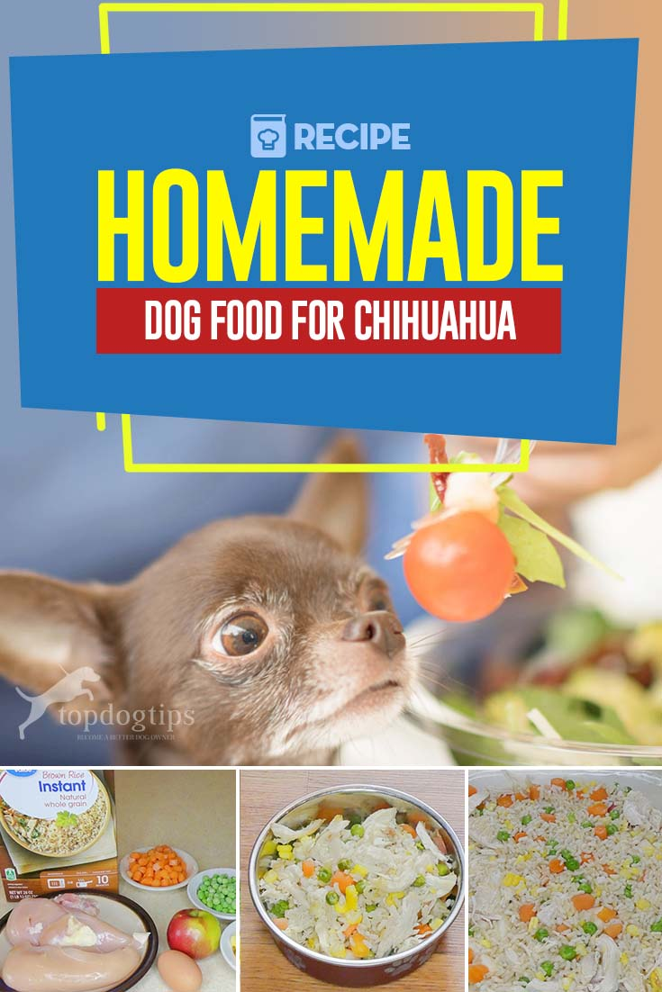 Homemade Dog Food for Chihuahua Recipe