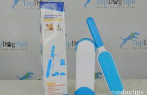 DELOMO Reusable Dog Hair Remover Brush Review