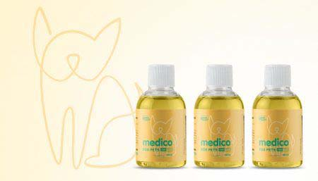 Doggie CBD Tinctures - Medico Anxiety & Pain Treatment