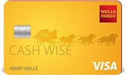 Wells Fargo Cash Wise Visa Card