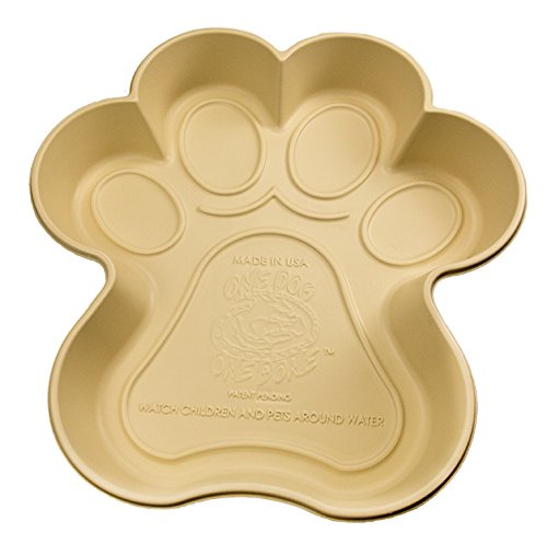 Paw Shaped Dog Pool