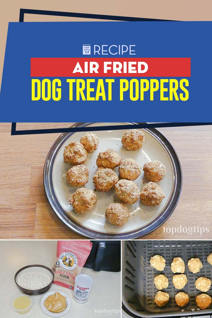 Delicious Air Fried Dog Treat Poppers Recipe