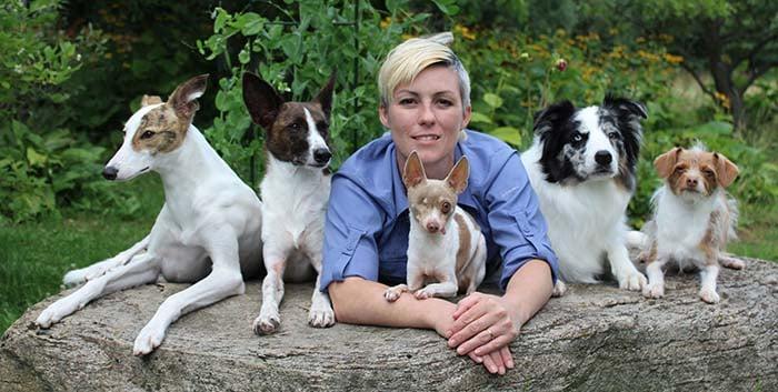 Emily Larlham dog trainer