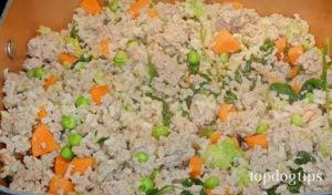 Chicken Mince Dog Food Recipe