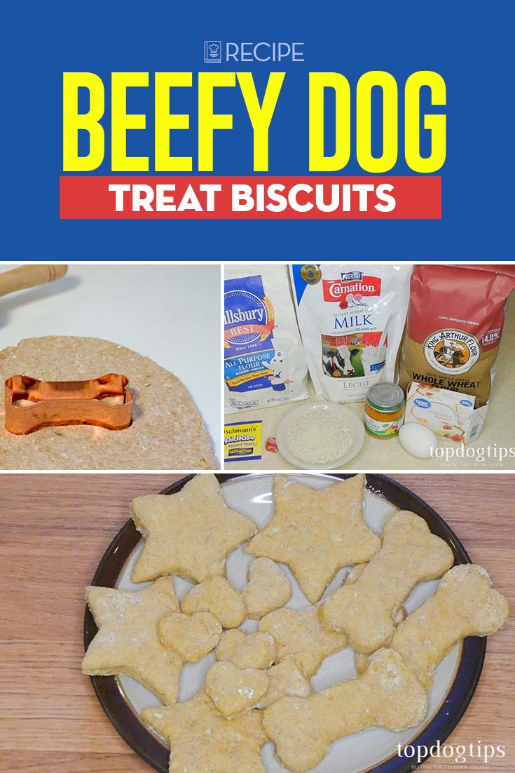 Recipe of Beefy Dog Treat Biscuits