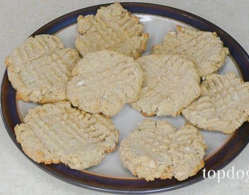 Oat Bran Dog Biscuits Recipe