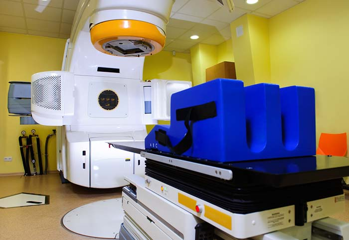 Radiation therapy for tumors in dogs