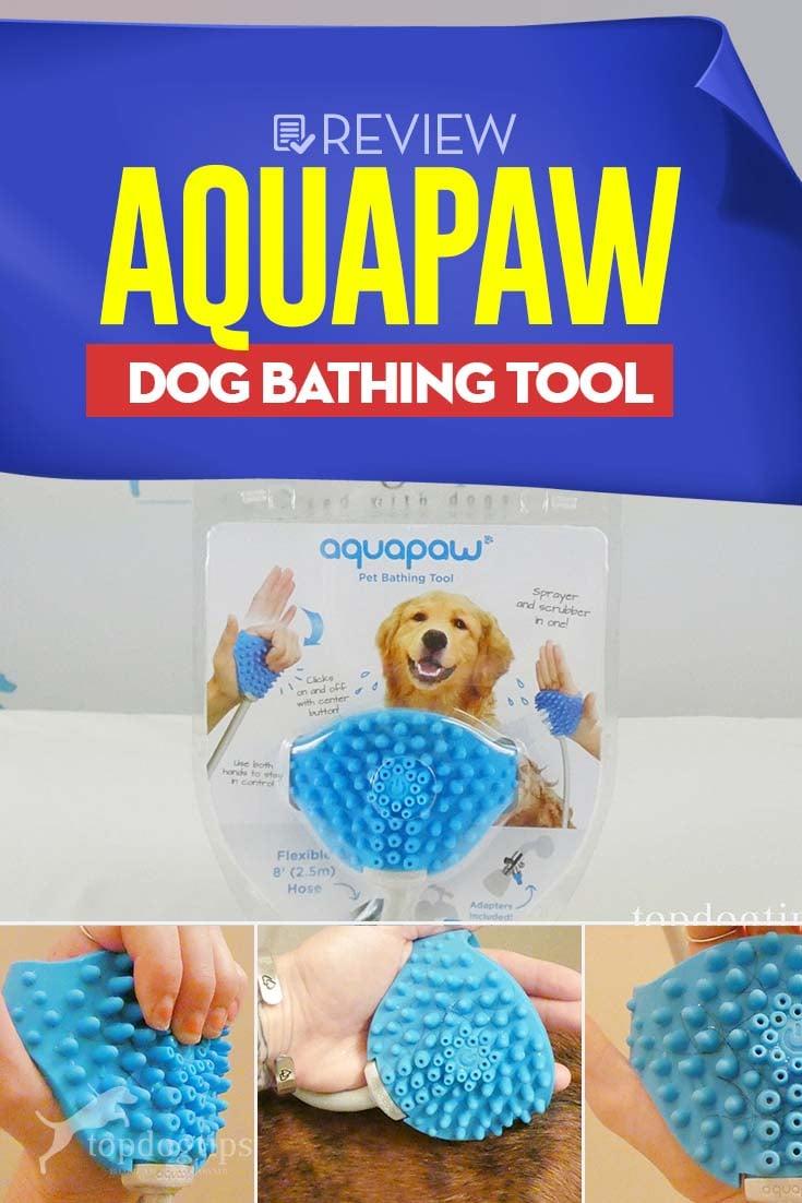 Review of Aquapaw Dog Bathing Tool
