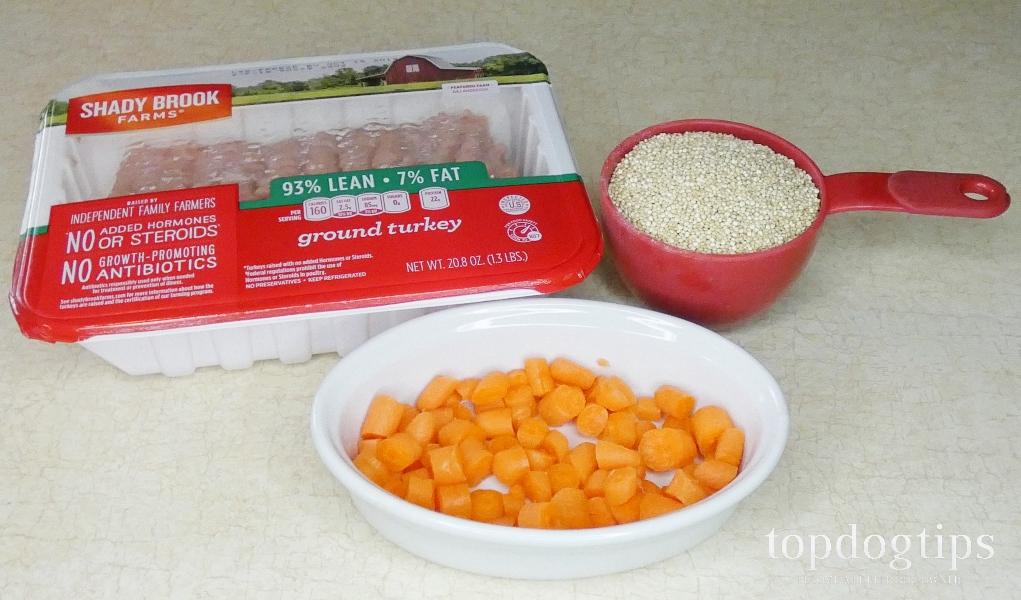 Simple Quinoa Dog Food