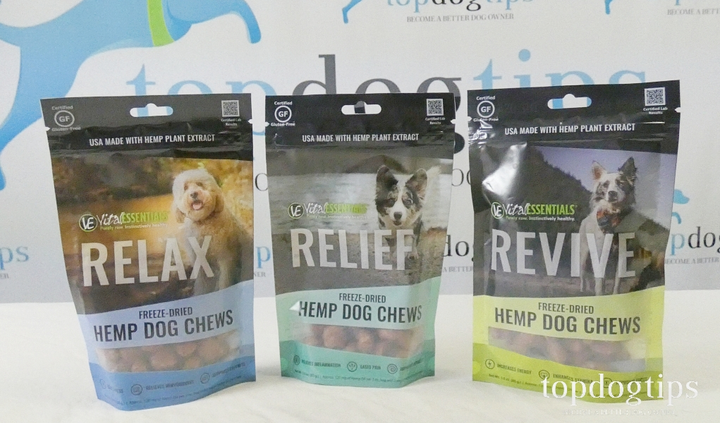 Vital Essentials hemp treats for dogs