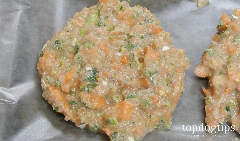 raw dog food patties