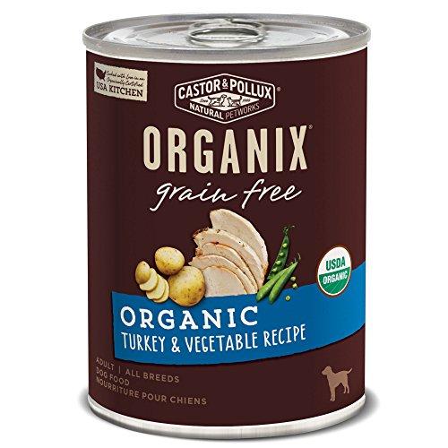 Organic Grain Free Turkey & Vegetable Recipe by Caston & Pollux