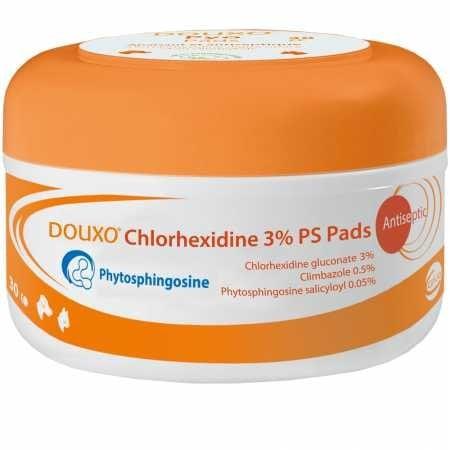 Sogeval Douxo Chlorhexidine 3-Percent PS Pads by Douxo