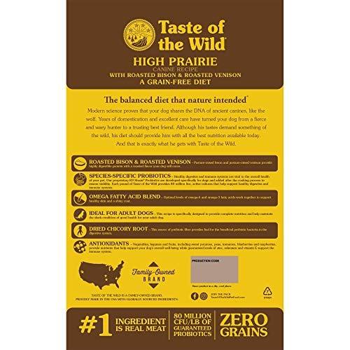 Taste of the Wild Dry Dog Food, Hi Prairie Formula by Taste of the Wild