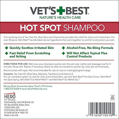 Vet's Best Hot Spot Puppy Shampoo by Vet's Best