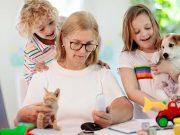 7 conseils pour gérer un foyer à plusieurs animaux avec des enfants