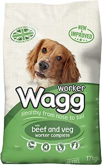 Wagg Complete Worker Dry Mix Dog Food