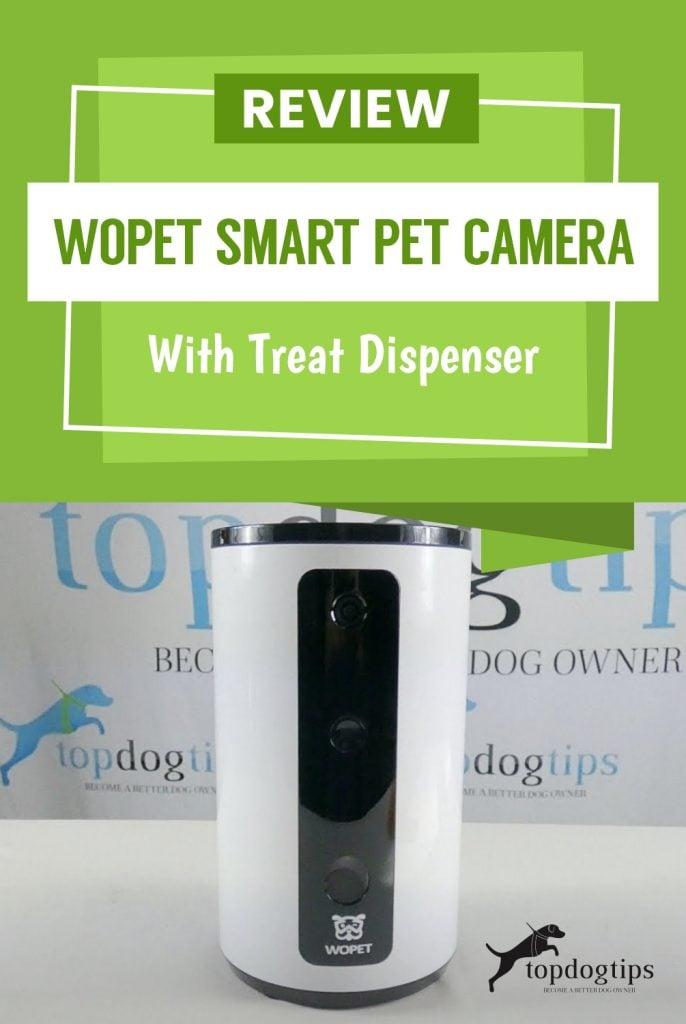 Review- WOpet Smart Pet Camera with Treat Despenser