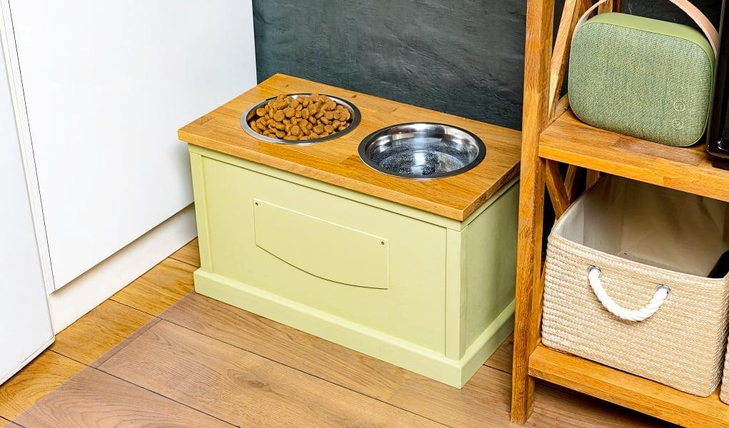 DIY Dog Food Storage