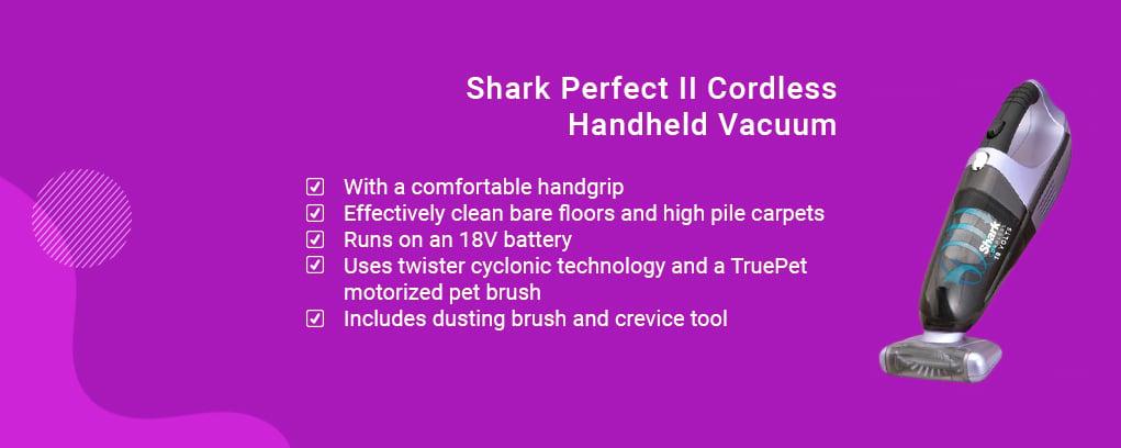 Shark Perfect II Cordless Handheld Vacuum