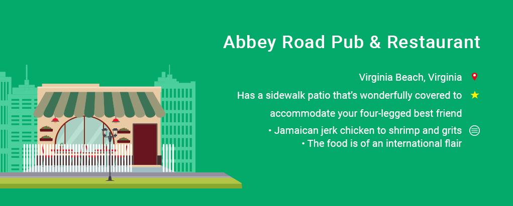 Abbey Road Pub & Restaurant, dog friendly restaurants